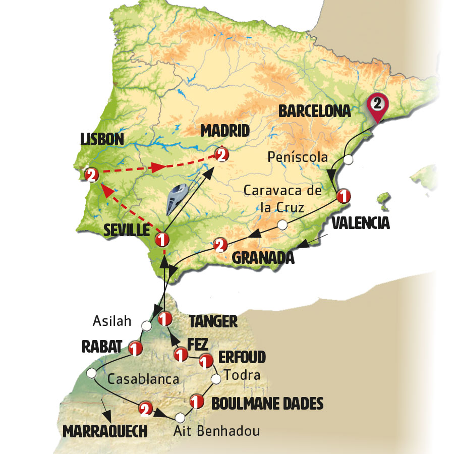Spain, Morocco and Portugal - Europamundo Vacations